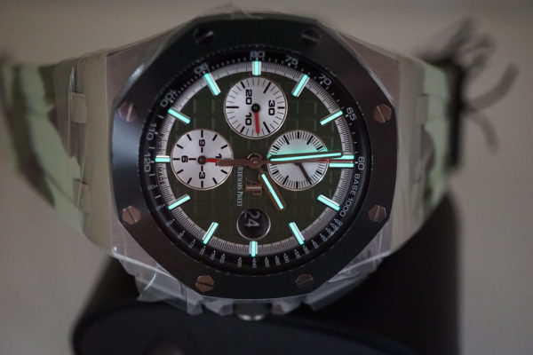 BRAND NEW Audemars PIGUET ROYAL OAK OFFSHORE NEW CAMO 26400SO 2019 LIMITED EDITION OF 400 FULL SET